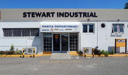 Stewart Industrial parts department